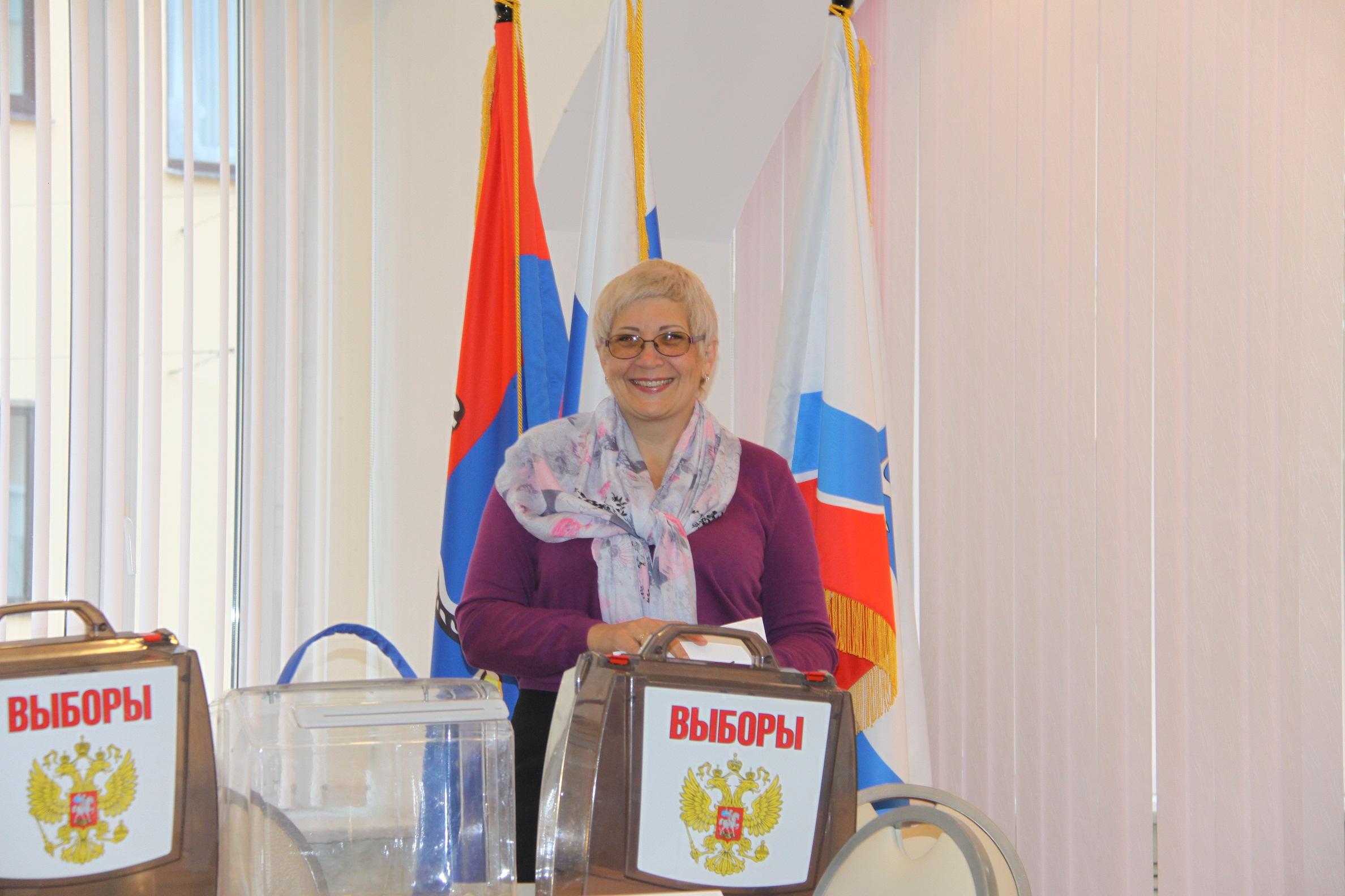 Член участковой комиссии с правом решающего голоса