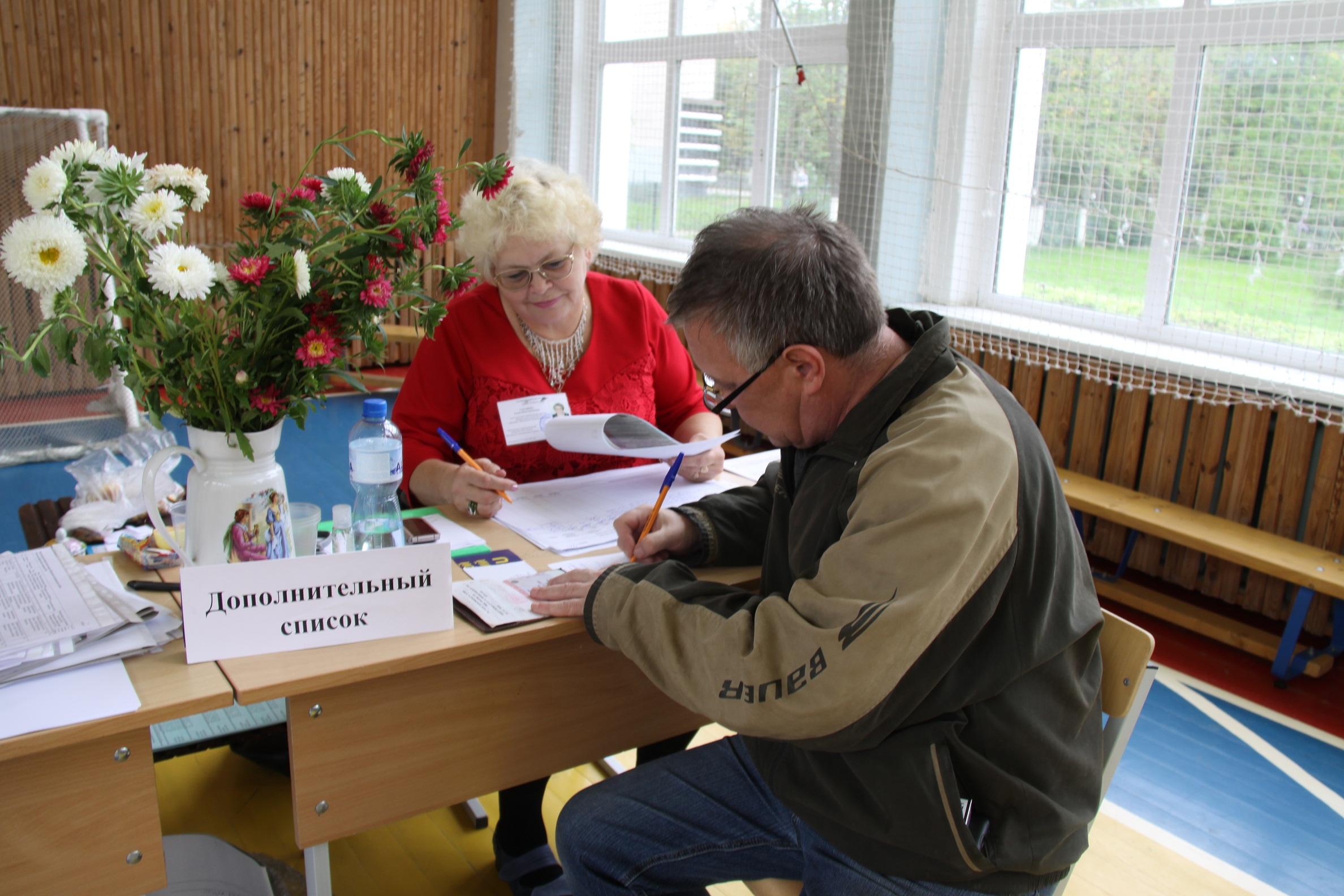 Голосование в г. Приозерске 18 сентября 2016 года